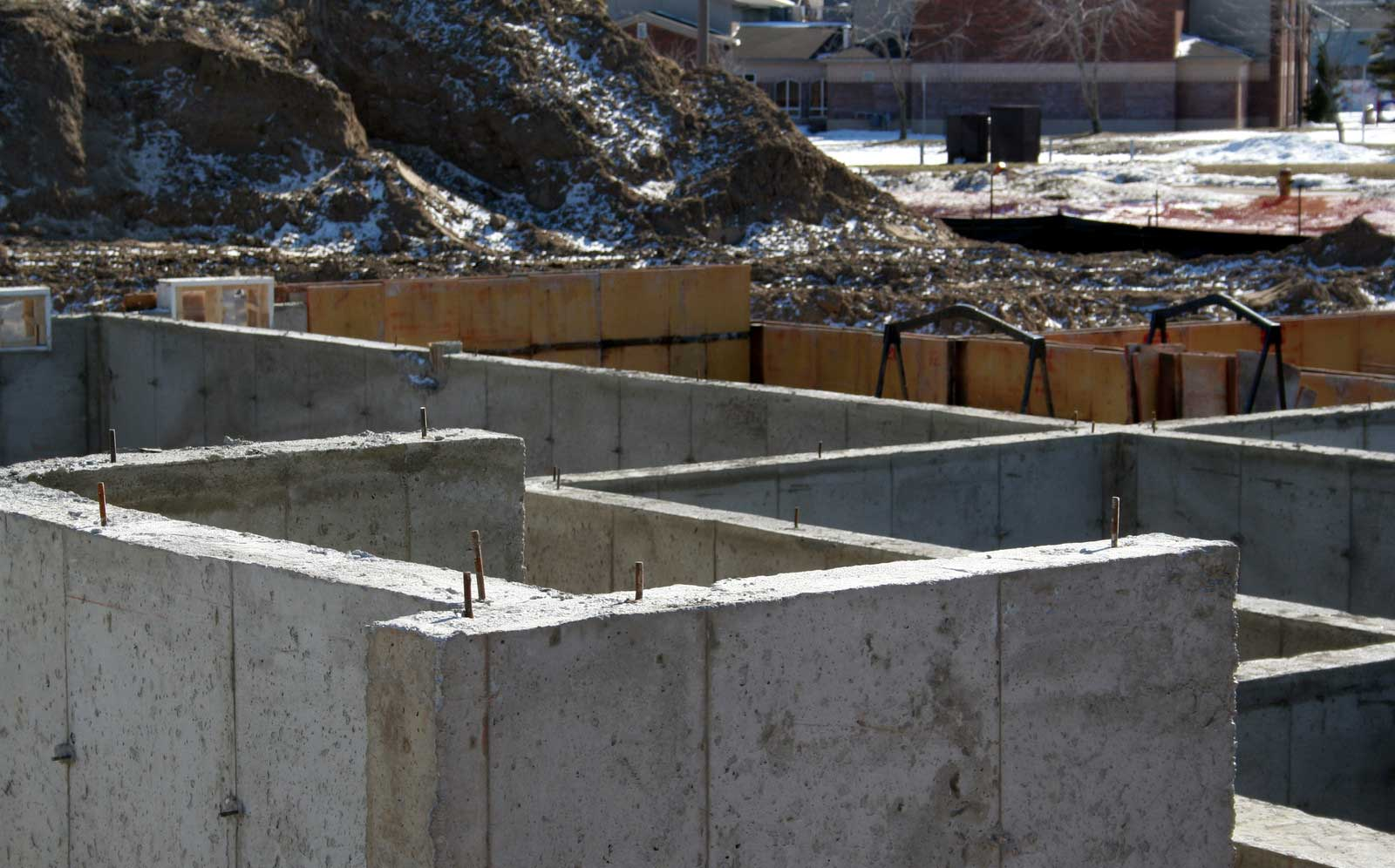 Cost of poured concrete foundation walls Foundation pouring
