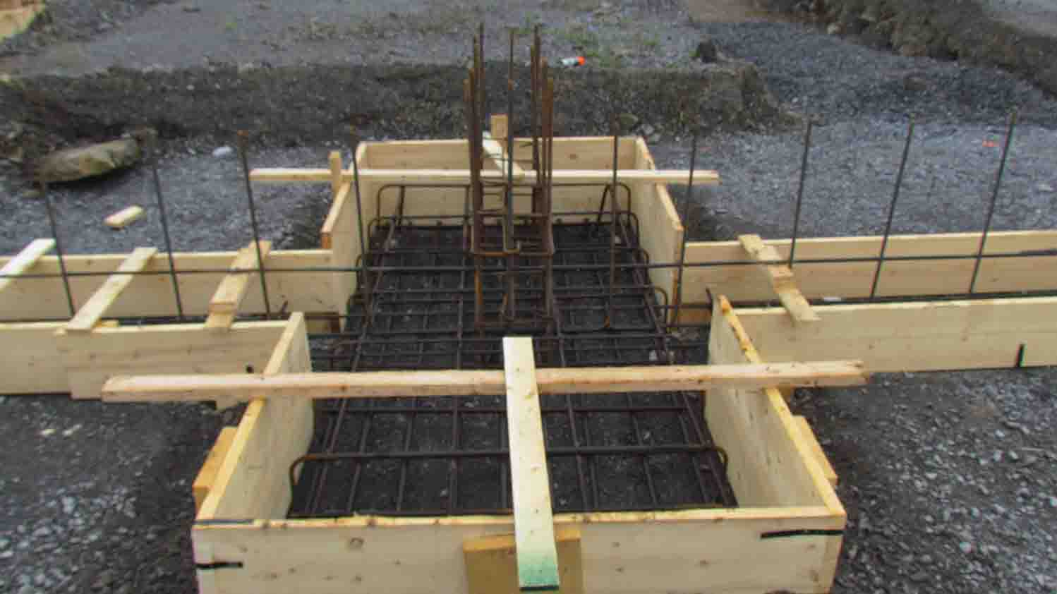 Footing For Residential Concrete Foundation Westend Forming